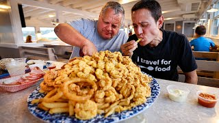 $284 Fisherman's Platter!! KING OF FRIED SEAFOOD in New England!!