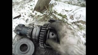 Трактор МТЗ 82 Ремонт редуктора пускача