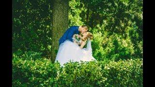 Нежное слайд-шоу из свадебных фотографий