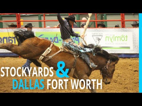 RVING DALLAS FORT WORTH & THE STOCKYARDS (KYD EP 94)