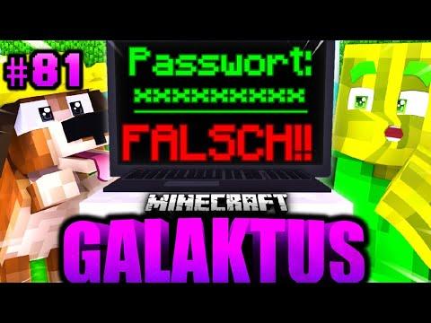 WAS ist DAS PASSWORT?! - Minecraft GALAKTUS #81 [Deutsch/HD]