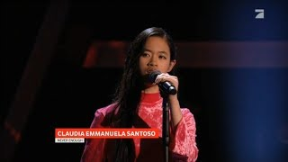 Claudia Emmanuela Santoso || Loren Allred - Never Enough || The Voice 2019 (Germany)