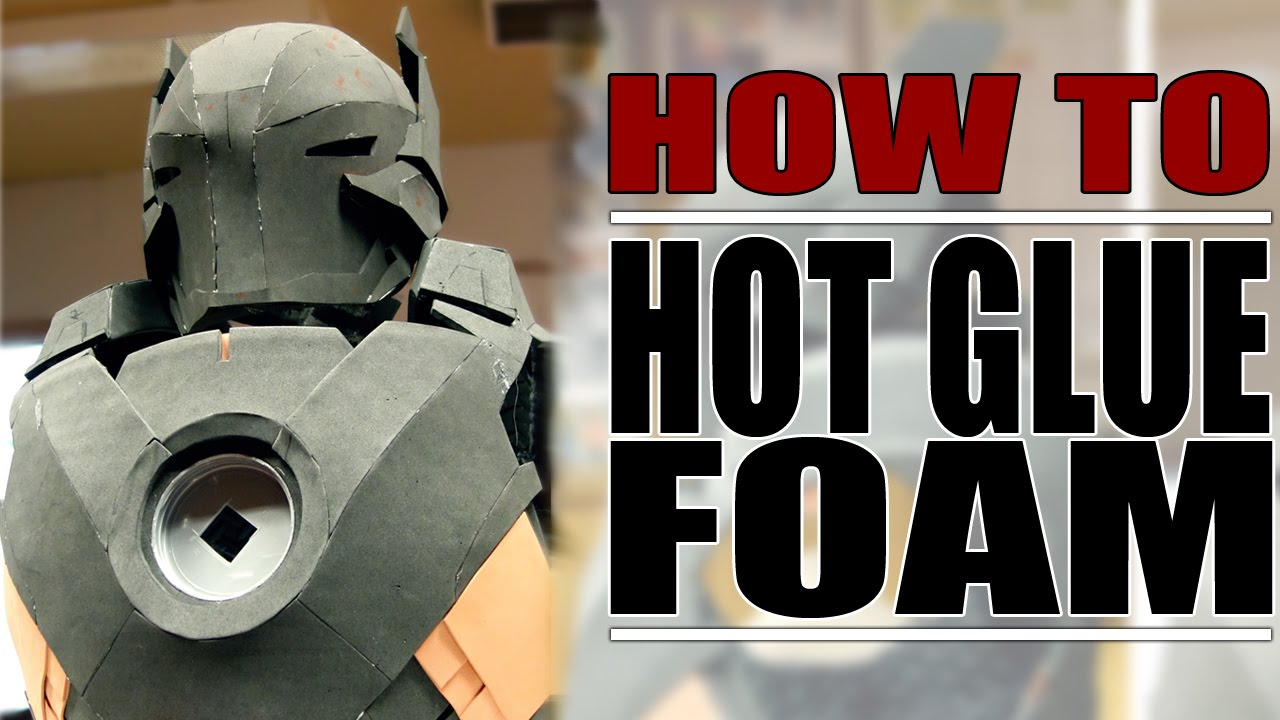 how i hot glue foam cosplay diy youtube. Black Bedroom Furniture Sets. Home Design Ideas