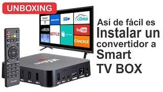 Convertidor a Smart TV Box | Instalación y funcionamiento