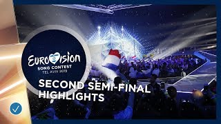 Highlights of the Second Semi-Final - Eurovision 2019