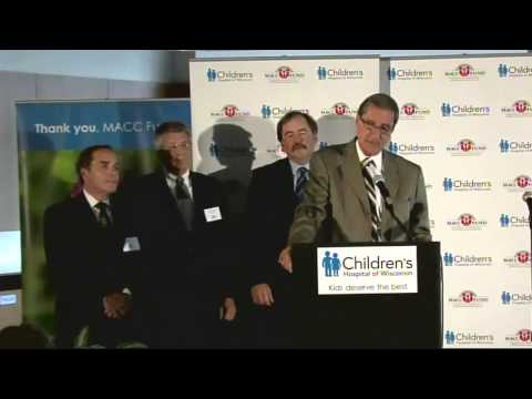 MACC Fund's $10 million gift advances childhood cancer care at Children's Hospital of Wisconsin