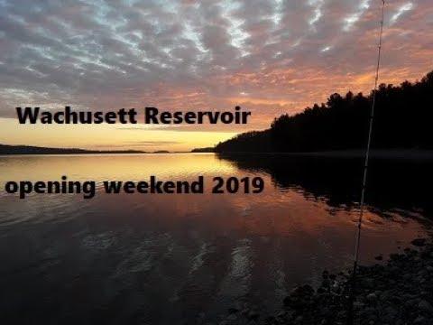 Wachusett Reservoir Opening Weekend 2019