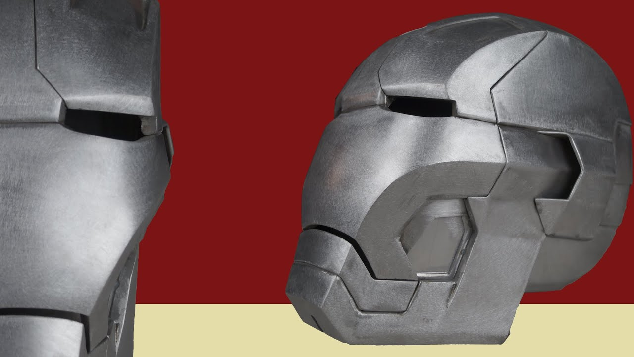 Making The Metal Iron Man Helmet Mk 42 Youtube