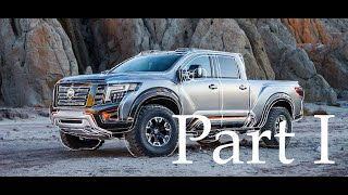 Speed Painting Nissan Titan Warrior (drawing sketch)