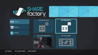 ShareFactory Update 1.08 Tutorial