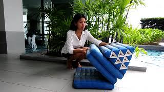 Coussin Thaïlandais 3 plis vidéo