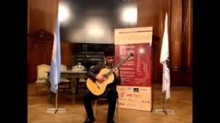 Festival SMBA 2015  Marco Vega Garrido 2º premio Concurso