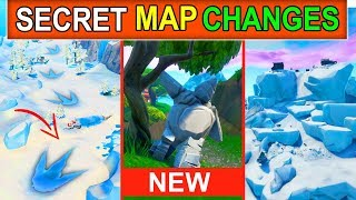 *NEW* FORTNITE MAP CHANGES! POLAR PEEK MONSTER BROKE FREE! + STONE LOVE STORY CONTINUES (SEASON 9)