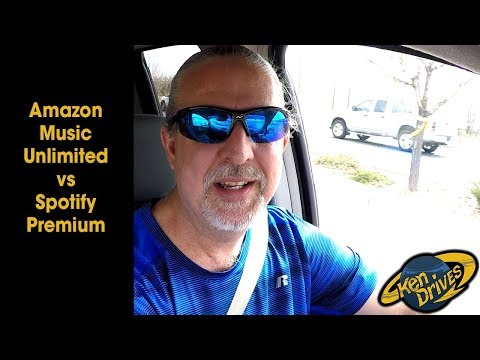 Ken Drives: Amazon Music Unlimited vs Spotify Premium