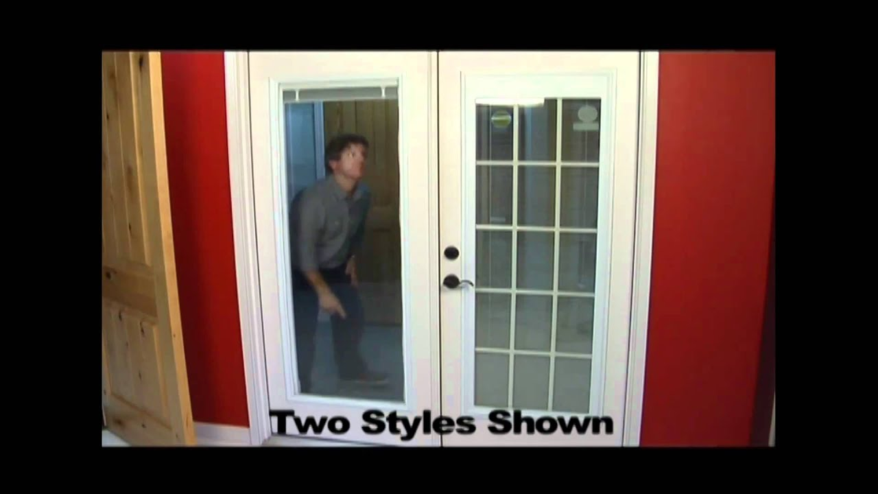 Replace your patio door youtube for Replace window with door