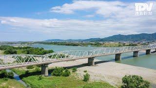 空からとくしま 阿波中央橋・岩津橋(吉野川市・阿波市)