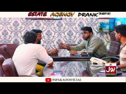 | Estate Agency Prank Part 2 | By Nadir Ali & Farrukh In | P4 Pakao | 2018