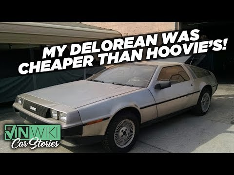 I bought a DeLorean that hasn't been driven in 20 years