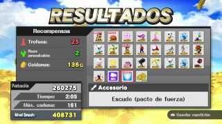 Cómo Conseguir Trofeos Facilmente en Super Smash bros. for WiiU and 3ds (smash4)