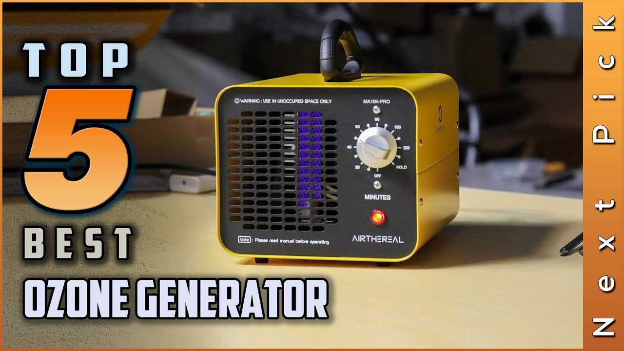 Top 5 Best Ozone Generators Review in 2020