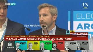 Alberto Fernández 47% Mauricio Macri 41% - Primeros resultados - Ganó Alberto, Elecciones 2019