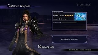 Warriors Orochi 3 Ultimate - Nobunaga Oda Mystic Weapon Guide