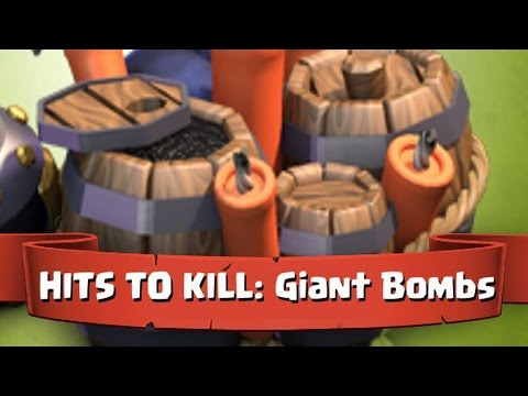 clash of clans Upgrade Giant Bomb level 4 (max level)