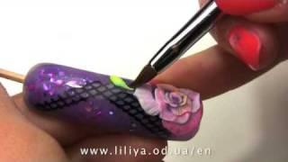 Nail Art by Liliya Sereditskaya (Garden of roses)