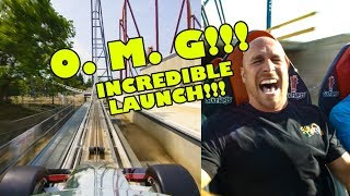 Maxx Force Roller Coaster POV! OMG! INCREDIBLE! Six Flags Great America 2019 Multi Angle Onride