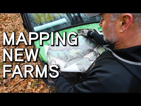 Using Maps To Setup A New Farm