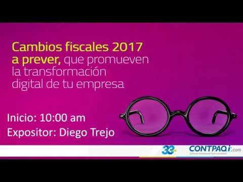 CAMBIOS FISCALES 2017 A Prever