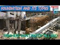 Building foundation | Types of foundation | Building Construction Part-1