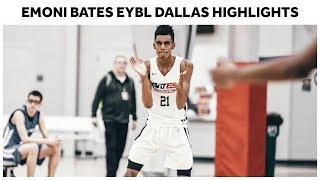 14-Year-Old Phenom Emoni Bates Shows Out in Dallas - Full Highlights