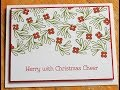 2017 Stampin' Up! Holiday Card Series Day 2