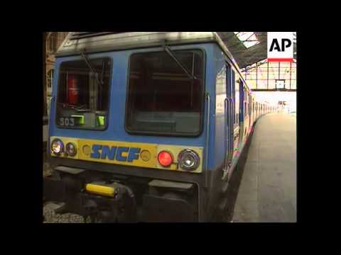 France - More Public Transport Running