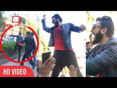 Ranveer Singh Jumps Of the Road | Bandra Link Road | Crazy, Crazy, Crazy