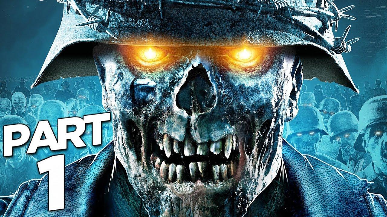 ZOMBIE ARMY 4 DEAD WAR Gameplay pas à pas Partie 1 - INTRO (JEU COMPLET) + vidéo