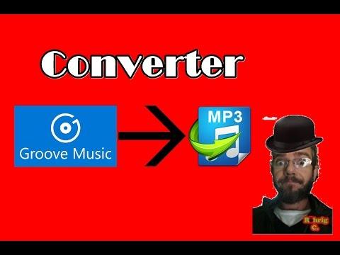 como converter GROOVE em MP3