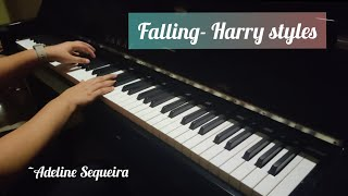 Falling - Harry styles | Piano and Lyrics cover by Adeline Sequeira