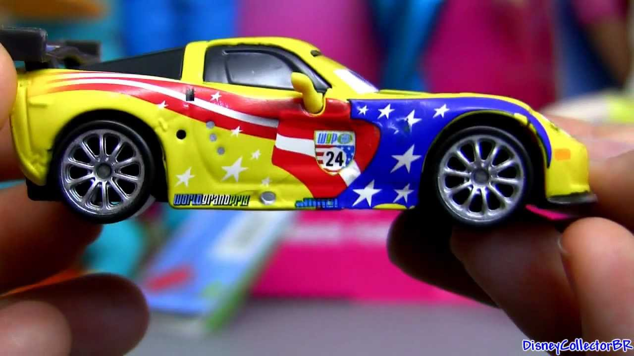 Cars 2 Jeff Gorvette 7 Diecast From Disney Cars 2 Mattel Pixar