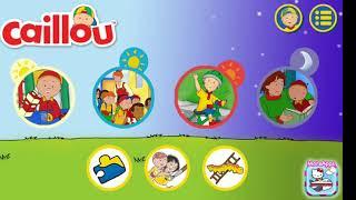Jeux un jour avec Caillou - game tiếng Pháp cho bé 3 tuổi