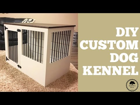 How To Build A Custom Dog Kennel / Woodworker/Maker /