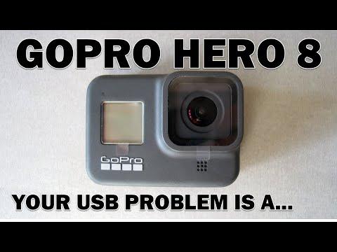 GOPRO HERO 8 Black USB Fault *EXPLAINED* in English