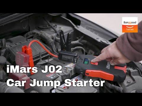 iMars J02 Portable Car Jump Starter丨16000mAh Powerbank - Banggood Tool Sets