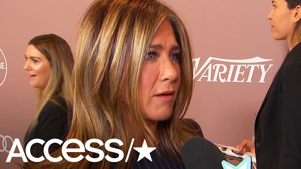 Jennifer Aniston Dishes On 'The Morning Show' & That 'Friends' Reunion At Variety's Power Of Women