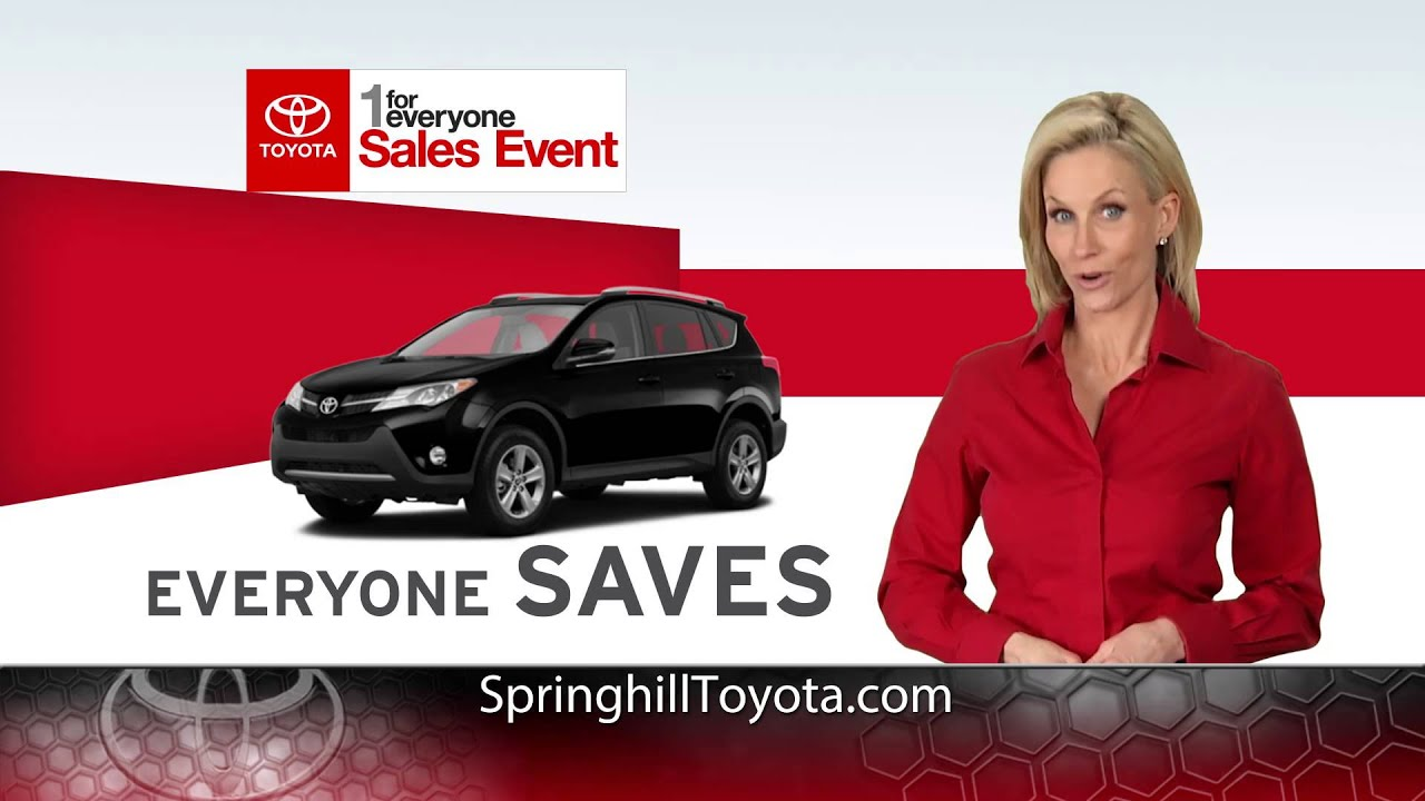 1 for everyone at springhill toyota in mobile al