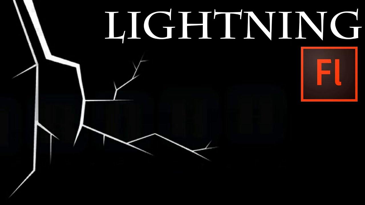Flash Animation Tutorial - Animate Lightning with Flash ...