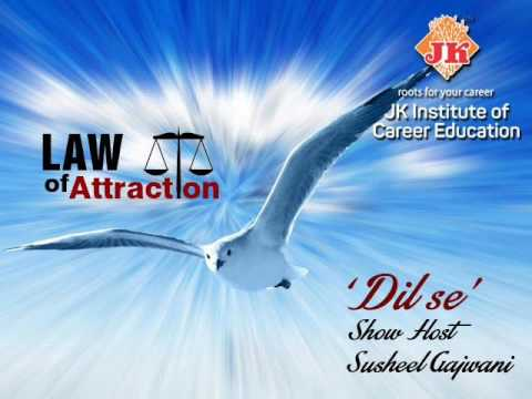 Susheel Gajwani JKICE Law of Attraction Part  1