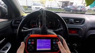 Техника программирования ключа на Kia Rio, Hyundai Solaris