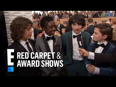 """Stranger Things"" Cast Have Superstar Celeb Fans  E Red Carpet & Award Shows"